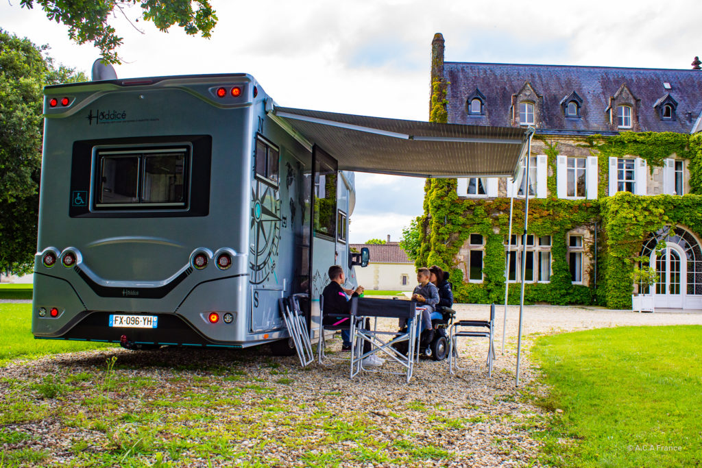 camping-car PMR